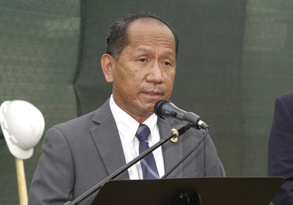 Filipino Consul General Edgar B. Badajos